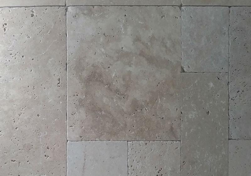 Geometrie di Marmo Zandobbio e Travertino